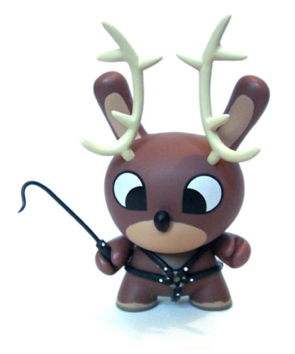 Kidrobot Dunny Xmas CHUCKBOY Reindeer regular