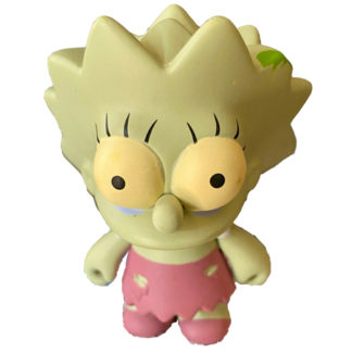 Kidrobot Simpsons Series2 Zombie Lisa Chase
