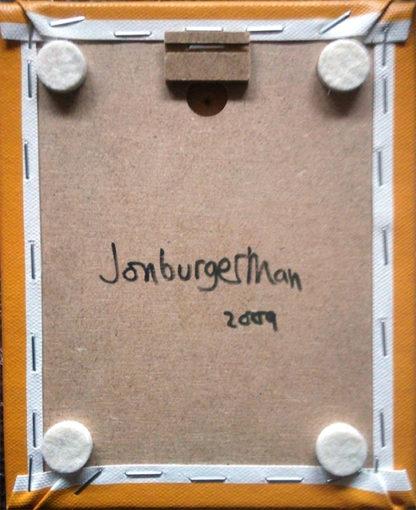 Jon Burgerman - Mini Canvas: Stevey
